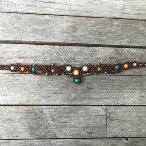 Makramee Tiara oder Halskette