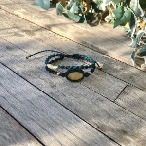 Makramee Armband Spirale